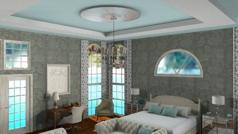 dream budoir - Eclectic - Bedroom  - by mywishlr