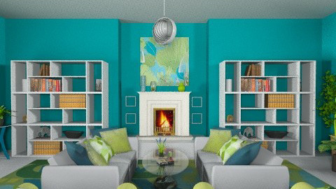 Matchy Matchy  - Eclectic - Living room  - by Patti58