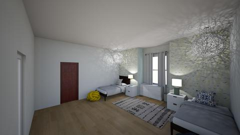 mine and adrews - Kids room  - by katemarsh