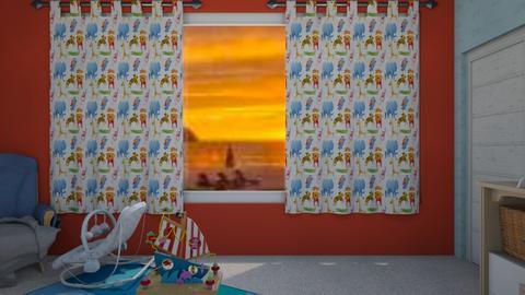 Child Development Nursery - Masculine - Kids room - by 954985
