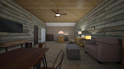 Nature Attic Apartment - Living room  - by mspence03