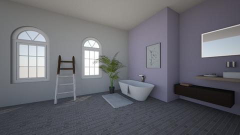 Bathroom Lavender - by marianijzink