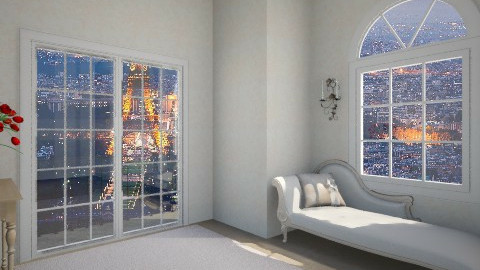Small Room of Paris - Bedroom - by Aden Thompson