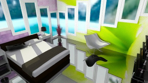 Window room - Bedroom - by Leigha Kay
