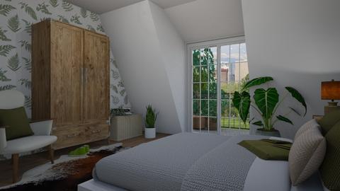 Attic bedroom - Bedroom  - by Thrud45