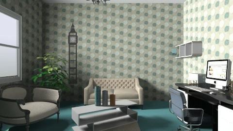 office - Modern - Office  - by hadar17