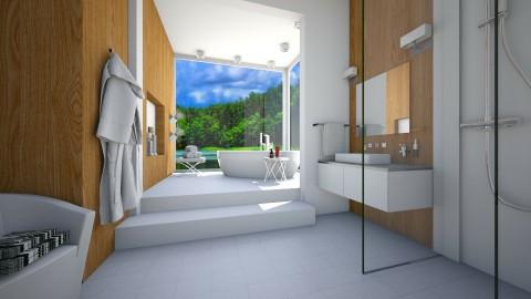 Bath with view - Bathroom  - by Thrud45