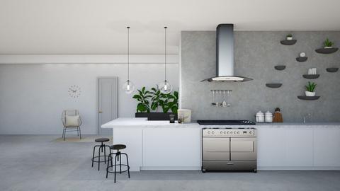 Minimal Kitchen - Minimal - Kitchen  - by krsdnll