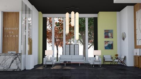 Embassy of Japan - Modern - Office  - by Viktor Svetlyov