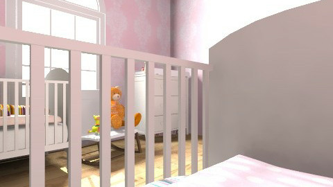 Twins Room - Feminine - Kids room  - by journalelv