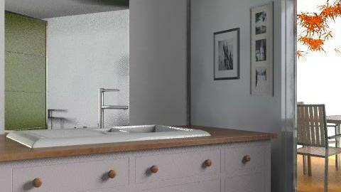 UNA CASA CHICA  - Minimal - Kitchen  - by cibelles