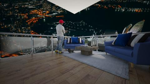 Rooftop Chill - Modern - by riordan simpson