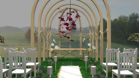 casamento Re e Di6 - Classic - Garden  - by marilentz