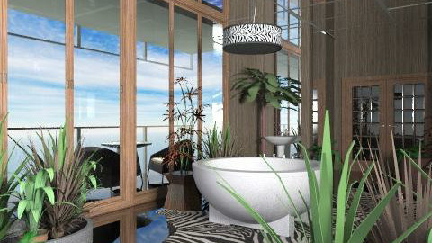 zebra - Eclectic - Bathroom  - by chania