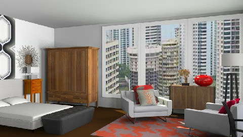 Hotel Chic2 - Eclectic - Bedroom  - by decordream