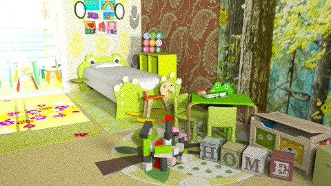 fairus - Modern - Kids room  - by 5ruzk