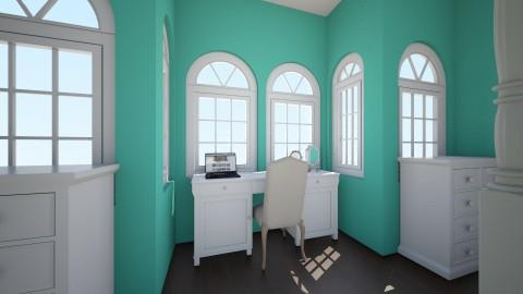 minty room - Bedroom - by ockey33