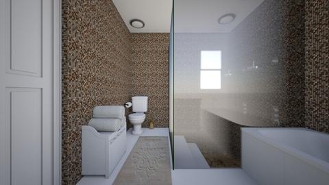 Sunken Shower 3 - Bathroom  - by SammyJPili
