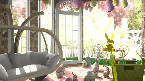 Egg storage - Country - Living room  - by Katherine100