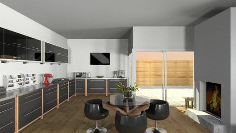 Kitchen - Modern - Kitchen  - by HGranger2