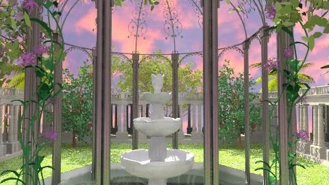The Fountain - Classic - Garden  - by Bibiche