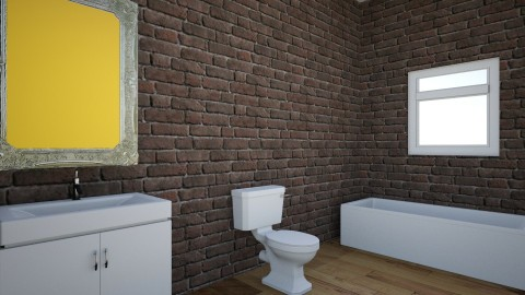 bathroom - by IceyCreamy