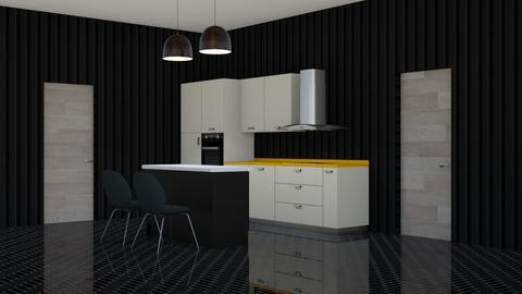 A While - Kitchen  - by designcat31
