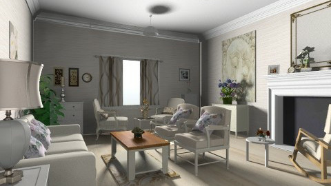 Rapsody in white - Classic - Living room  - by GALE88