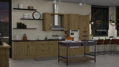 EK Artisan Kitchen - Kitchen  - by Ebru Tekneci
