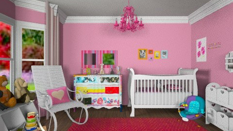 Squint nursery - Classic - Kids room  - by alleypea