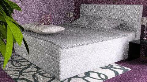 Spare Bedroom 2 - Retro - Bedroom - by zenobiadickson