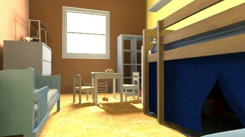 cote_chambre_enfants - Eclectic - Kids room  - by bwebox