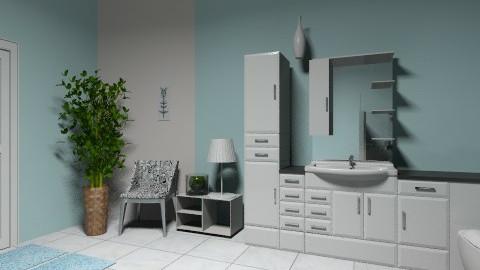 Bathroom blue - Classic - Bathroom - by Agnieszka11