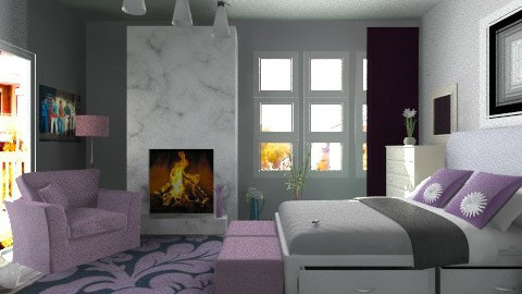City blossom - Modern - Bedroom  - by milyca8