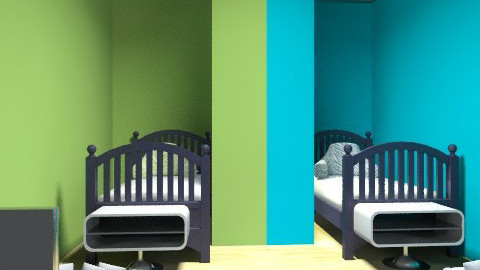 dobble kid room - Retro - Kids room  - by bailbug