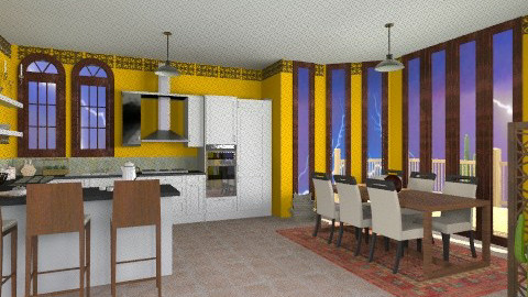 Mexican Vibe - Country - Kitchen  - by giulygi