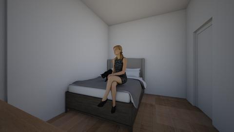 Basic Family home  - Bedroom  - by Astrjush