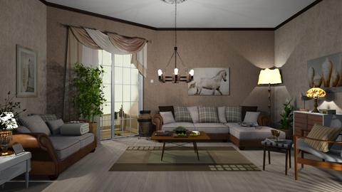 Contest - Country - Living room  - by nat mi