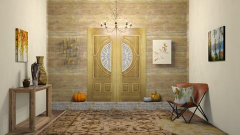 Autumn Hallway - by SouthernDeco