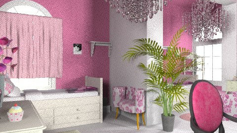 Twin teen room - Eclectic - Bedroom  - by Rebeka Kri