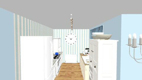 kitchen - Country - Kitchen  - by busybob