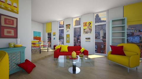 Manhattan House - Modern - Living room - by ilikalle