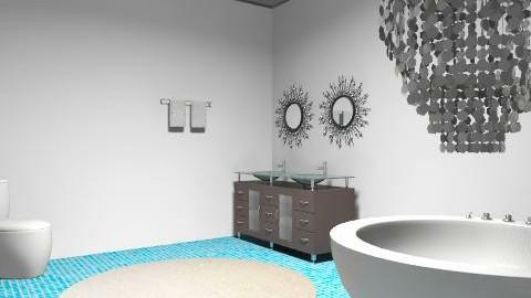 Bathroom. - Eclectic - Bathroom  - by SydneyJay