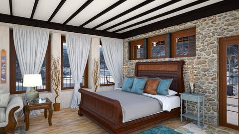 Cabin Sleeping - Bedroom  - by Amyz625