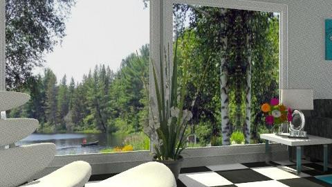 Outdoor Views - Modern - Garden  - by Open Spaces