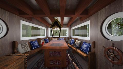 Pirate Ship Treehouse - Kids room  - by SammyJPili