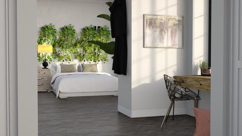Ivy Bedroom with Office Nook - Bedroom  - by KittyKat28