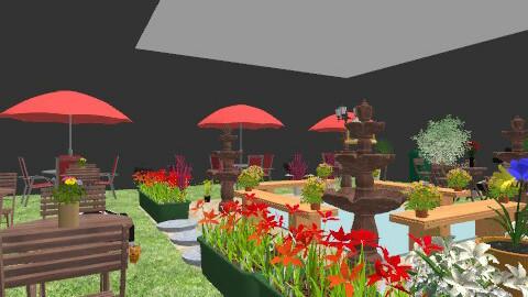 Restaurant  - Classic - Garden  - by caroline9