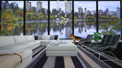 Stanley Park Vancouver - Eclectic - Living room  - by Theadora