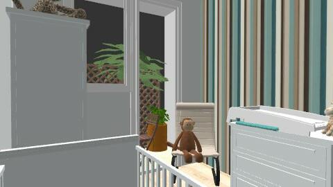 fiubabaszoba2 - Minimal - Kids room  - by undibundika